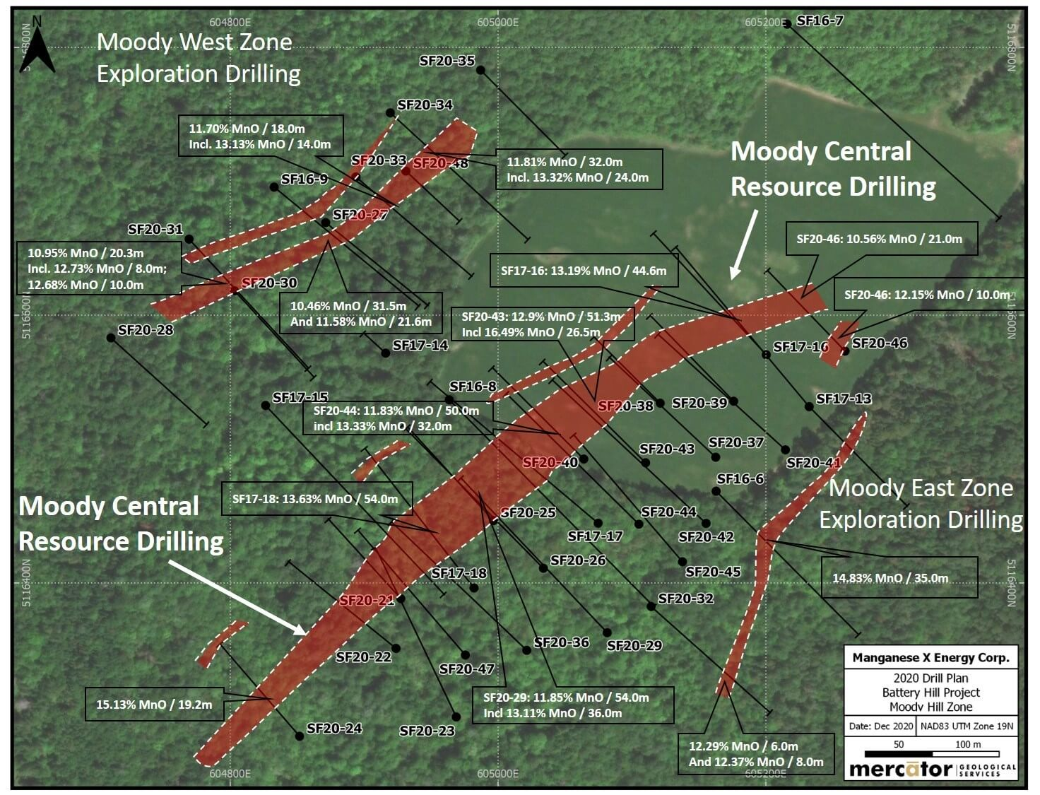 Detailed Moody Hill Drill Plan